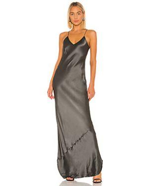 Вечернее платье на бретелях шелковое Nili Lotan