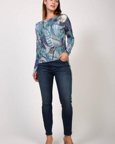 Хлопковые джинсы - синие Steilmann