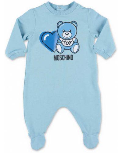 Niebieski kombinezon Moschino