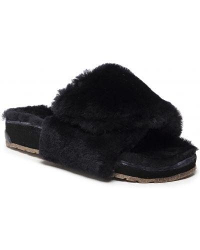 Sandały skórzane - czarne Emu Australia
