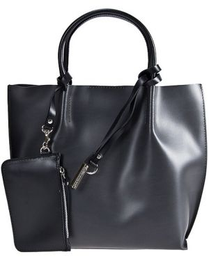 Кожаная сумка - серая Gianni Chiarini