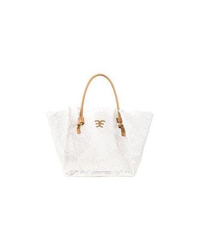 Белая сумка Ermanno Scervino