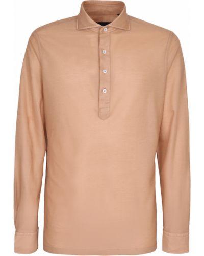 Beżowa koszula Lardini