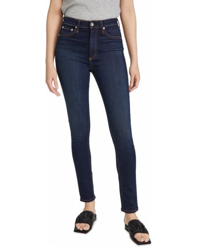 Mom jeans bawełniane Rag & Bone