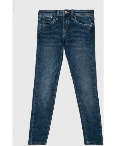 Джинсы с подкладкой зауженные Pepe Jeans