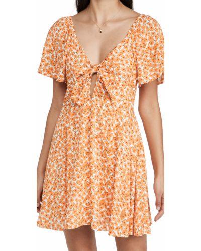 Текстильное платье мини Minkpink