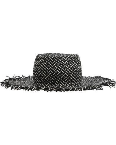 Czarny kapelusz Merci