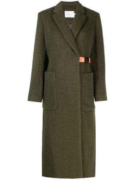Шерстяное пальто с поясом Neul
