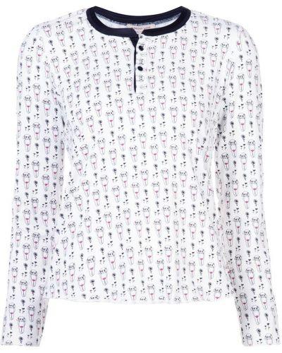 Пижама шелковая хлопковая Morgan Lane