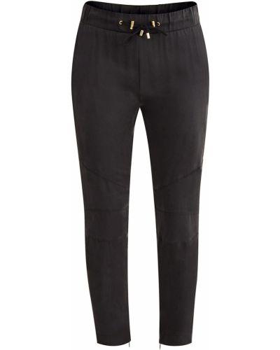 Укороченные брюки прямые с завязками Balmain