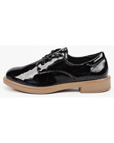 Черные демисезонные туфли Francesco Donni