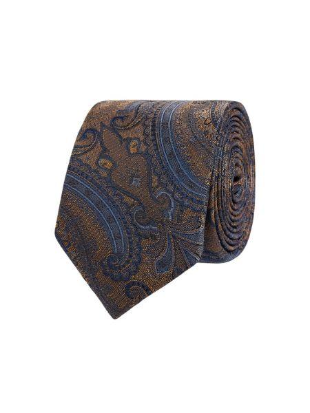 Klasyczny żółty krawat z jedwabiu Jake*s
