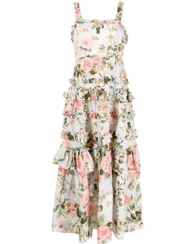 Хлопковое платье макси Needle & Thread