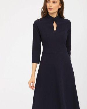 Платье прямое синее Calista