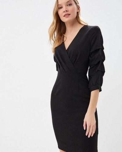 Платье весеннее черный Incity