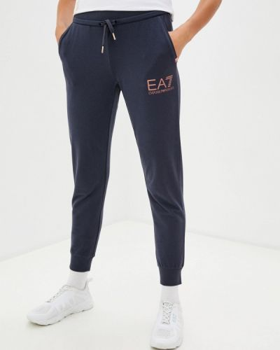 Спортивные серые спортивные брюки Ea7