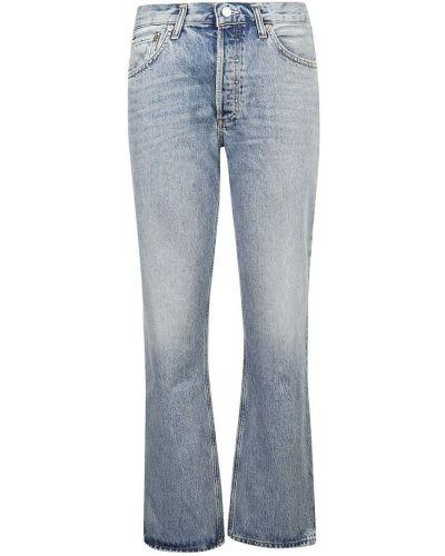 Mom jeans - niebieskie Agolde