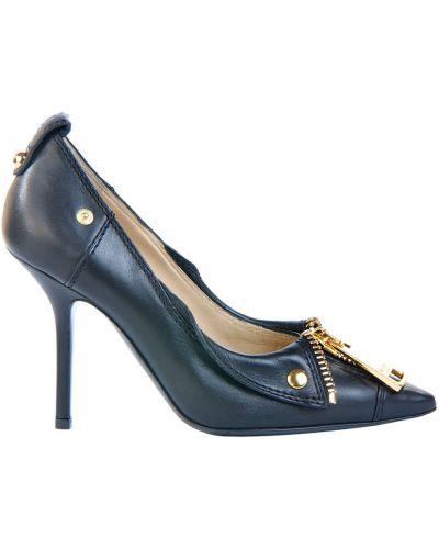 Туфли осенние кожаные Moschino