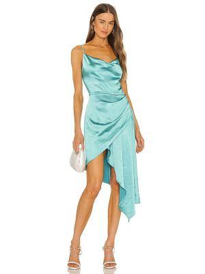 Платье атласное - бирюзовое Elliatt
