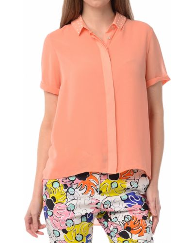 Оранжевая блузка Patrizia Pepe