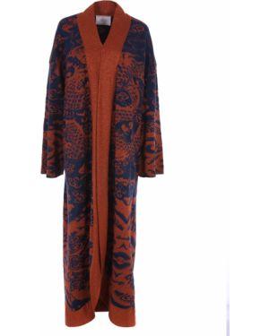 Шерстяное пальто - синее Tak.ori