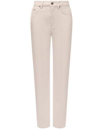 Хлопковые джинсы - белые Ksubi