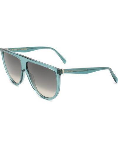 Бирюзовые солнцезащитные очки Céline Eyewear