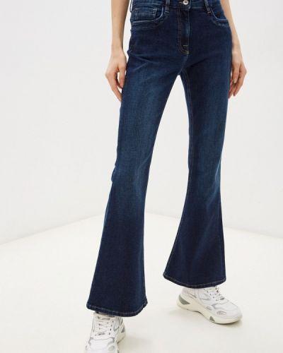 Широкие джинсы - синие Bikkembergs