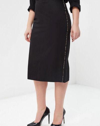 Черная юбка Violeta By Mango