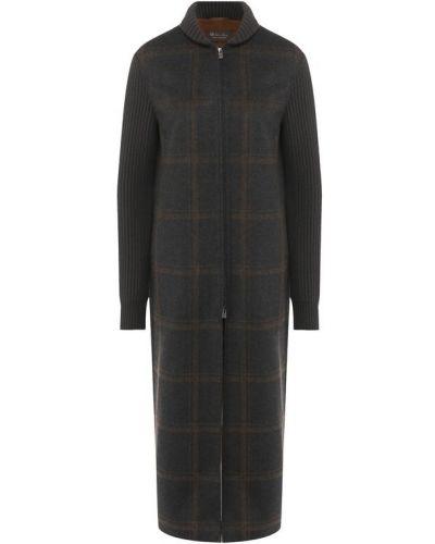 Пальто на молнии теплое Loro Piana