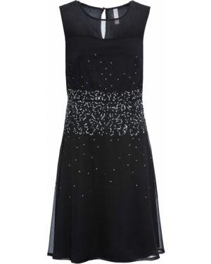 Платье мини миди сетчатое Bonprix