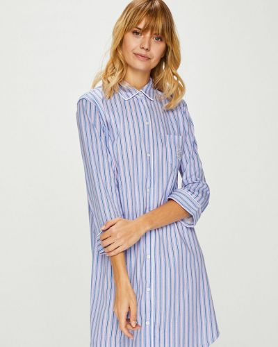 Пижама на пуговицах с рукавом три четверти Lauren Ralph Lauren