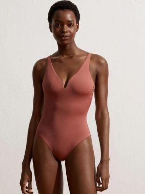 Слитный купальник - розовый Oysho