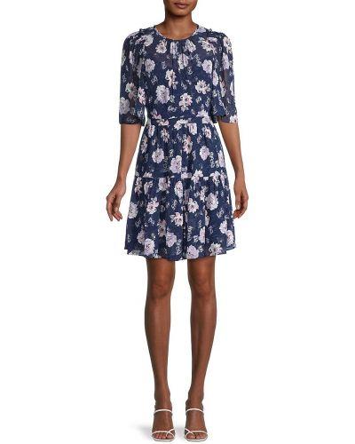 Платье с принтом Rebecca Minkoff