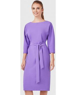 Платье миди фиолетовый Pompa