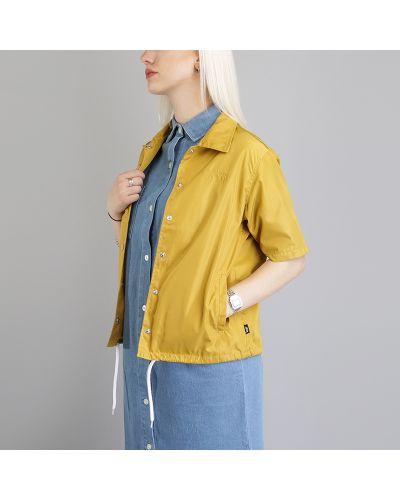 Куртка золотого цвета Stussy