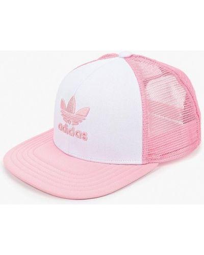 Розовая бейсболка Adidas Originals