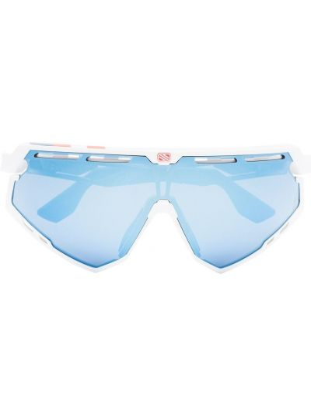 Niebieskie okulary oversize z akrylu Rudy Project