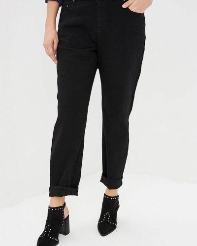 Прямые джинсы черные Lost Ink Plus