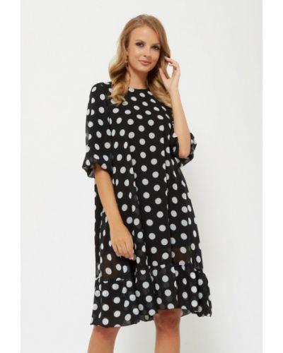 Платье осеннее черное Verna Sebe