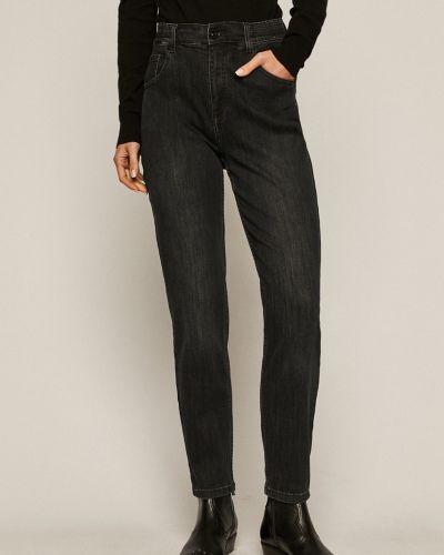 Хлопковые джинсы с высокой посадкой с карманами Medicine