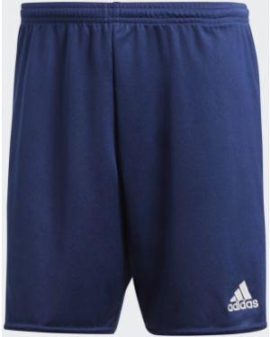 Текстильные спортивные белые футбольные спортивные шорты Adidas