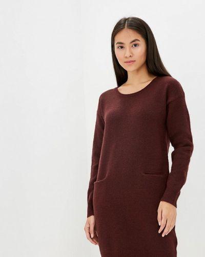 Вязаное платье осеннее трикотажное Ichi