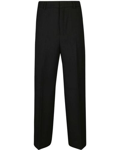 Czarne spodnie Ami Paris