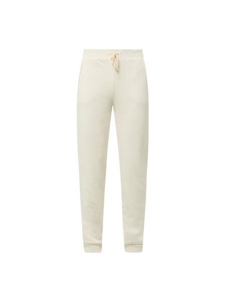 Beżowe spodnie bawełniane Pieces