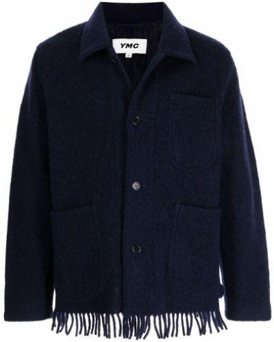 Niebieska kurtka z frędzlami Ymc