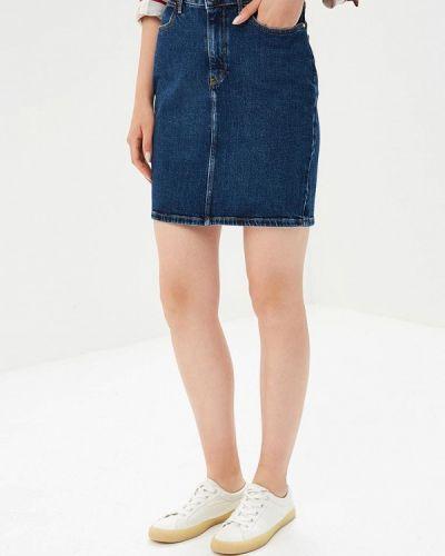 Джинсовая юбка осенняя Wrangler