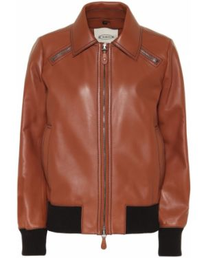 Кожаная куртка Tod's