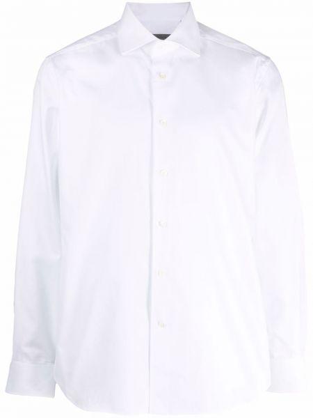 Белая рубашка на пуговицах Corneliani