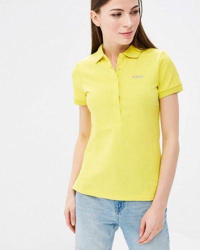Желтое поло Baon